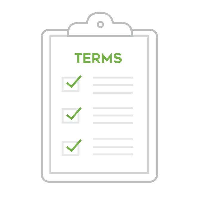 EzeScan Terms and Conditions Icon